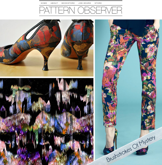 print design for aaryn west, in pattern observer's trend forecast
