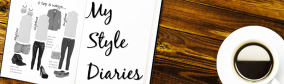 header for my style diaries blog