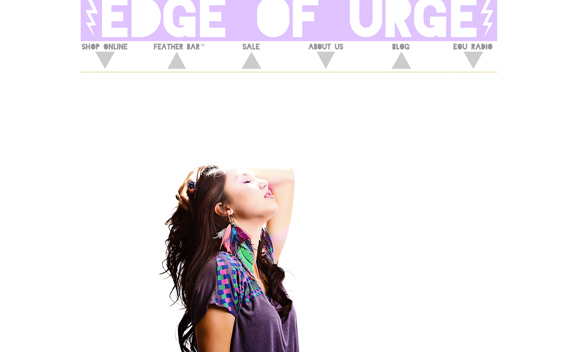 Wkshp tee styled for Edge of Urge online boutiqe